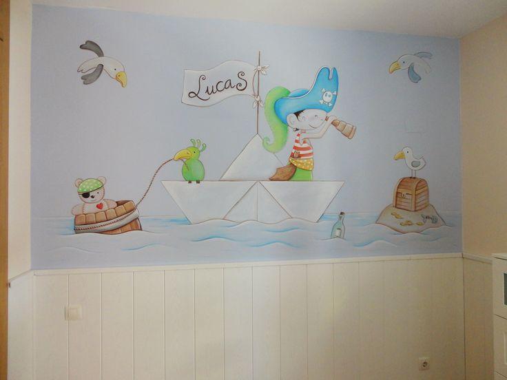 Decorar con pintura habitaciones infantiles decoracion - Decoracion infantil habitacion ...