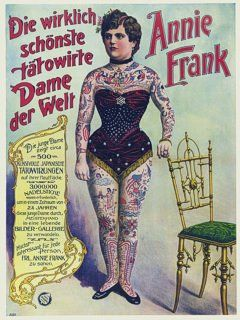 37 best freak show images on pinterest posters sideshow for Tattoo freak costume