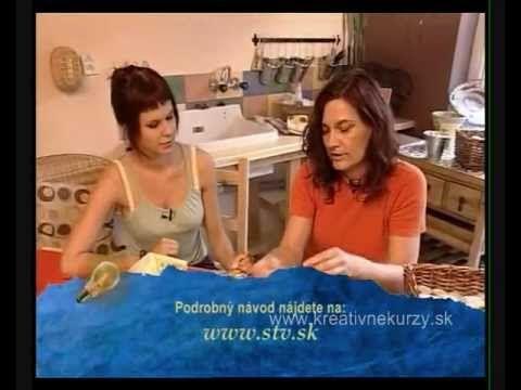 Kreatívne potreby použité vo videu dostanete zakúpiť na stránke :http://www.kreativne-potreby.sk/ , alebo sa môžete prihlásiť na kreatívny kurz, viac informá...