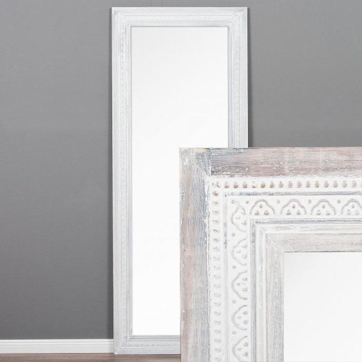 Spiegel TOULOUSE 160x60cm White Washed Bild 2