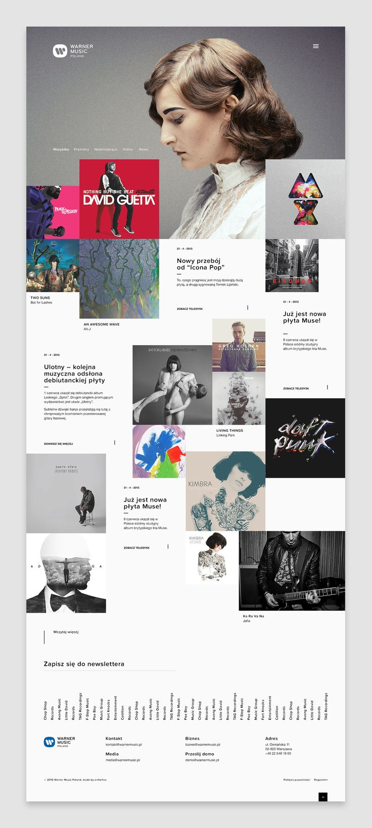 Warner Music Poland on Behance