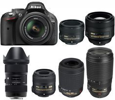 Nikon D5200 is a mid-range APS-C DX DSLR camera released in 2012. Nikon D5200 has a 24 MP sensor with a price range of $700 for body only. Today, we are going to showing you recommended lenses for Nikon D5200 camera. 50mm, 85mm Portrait Lenses | Zoom Lenses | Wide-Angle Lenses | Macro Lenses