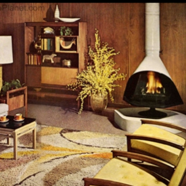Swedish Fireplaces Were All The Range In 1964