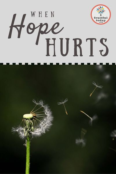 This devotion looks at the questions: Do I dare to hope? Can I handle any more disappointment? An encouraging post for those in a painful season of waiting. Focus verses: 2 Cor 1:8-10.
