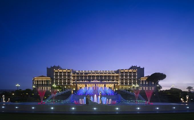 Mardan Palace Hotel in Antalya,Turkey