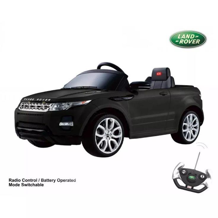Land Rover Evoque A Bateria 12v Negro O Blanco Rastar - $ 12.999,00 en Mercado Libre