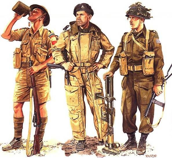 Canadian soldiers WWII