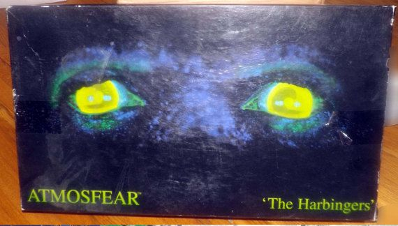 Vintage c.1995 Atmosfear The Harbingers scary  horror board
