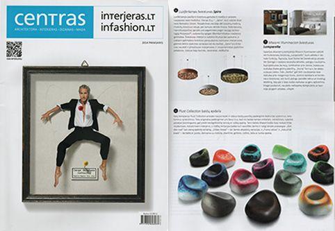 Lamparella en Centras Magazine. Intejeras.lt