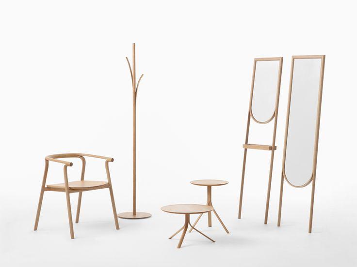 Milano Salone 2013: Nendo designs mirror chairs, zig zagging bookshelves and…