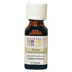 Aura Cacia, aceite esencial de arbol de cedro