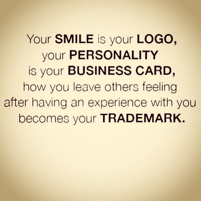Your SMILE is your LOGO | Inspirational Quotes | Quotes ...