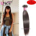 Brazilian Straight Human Hair 1 Bundle/100g UNice 8A Virgin Remy Hair Extensions #ad