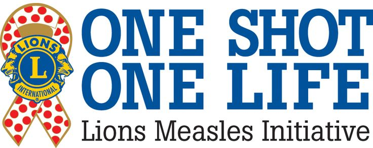 Download the One Shot, One Life: Lions Measles Initiative logo specially created for this new program. Also, find publications, advertisements and videos here.