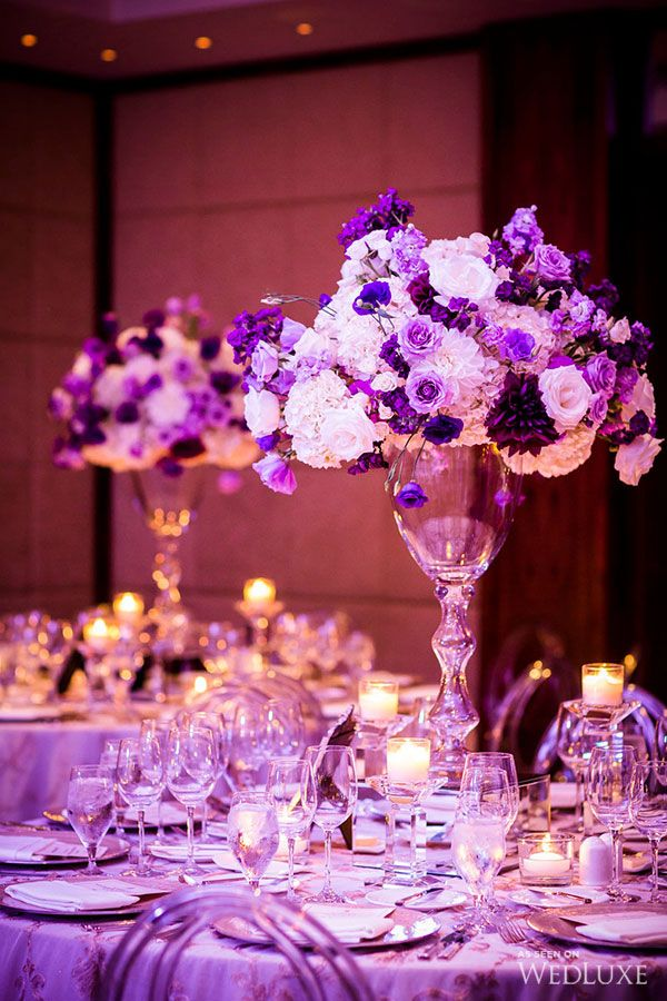 WedLuxe – Purple & Gold Persian Wedding | Photography by: Ikonica  Follow @WedLuxe for more wedding inspiration!