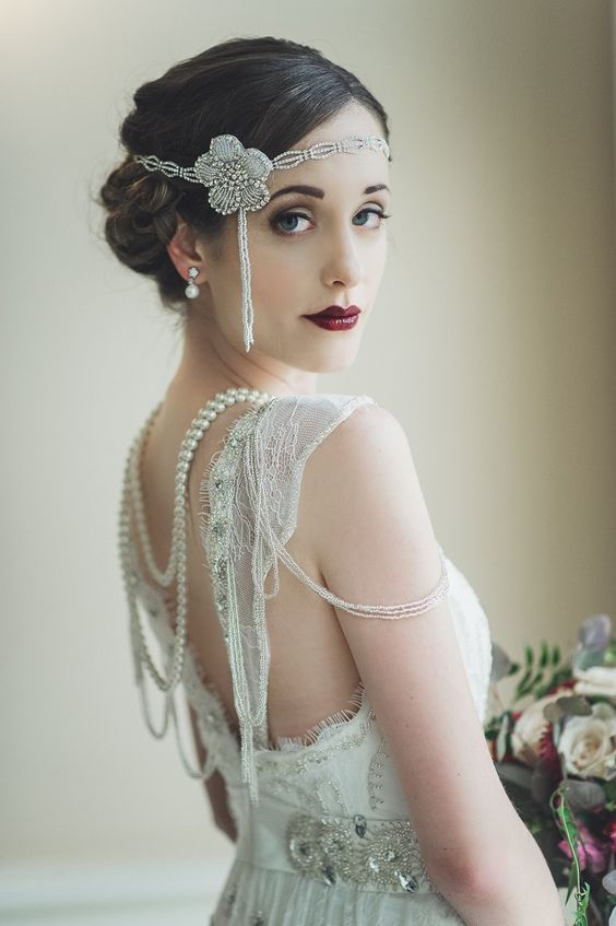 A Guide To Vintage Beauty Vintage Bridal 1920s Wedding Old