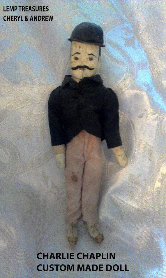 LEMP EST. (Geoffrey Konta) Grandson of William J. Lemp, son of his eldest daughter Annie Lemp Konta. Custom Made Antique Collectible Charlie Chaplin Doll From The 1920s Only $99.99 . ♥ Sorry can't reduce the price any lower-a sentimental favorite of Andrew Paulsen's who is the great great grandson of Annie Lemp.