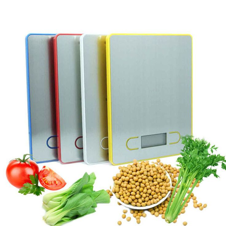 Practical 3 Units 5KG/1g LCD Display Digital Food Scale Kitchen Weight Tool E1Xc