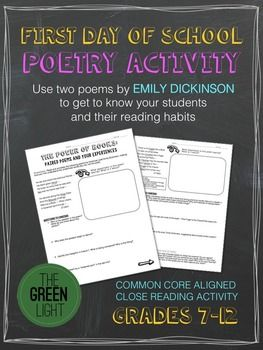 a literary analysis of the literature by emily dickinson Emily dickinson  these threads, she comes at it differently, never allowing her  interpretation of truth to become entrenched or oversimplified.