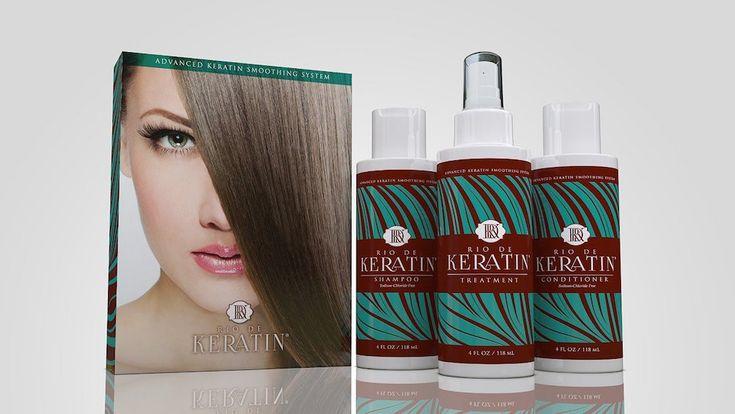 Review: Rio De Keratin's At-home Keratin Treatment // www.brokeandchic.com