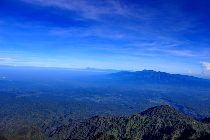 Semeru & Argopuro View from Bendera Peak - Raung