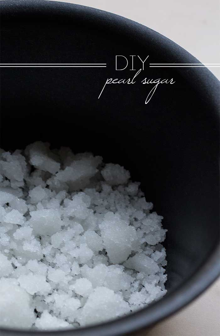 DIY Pearl Sugar // The Pancake Princess to use when making Liege waffles (recipe also on this board)