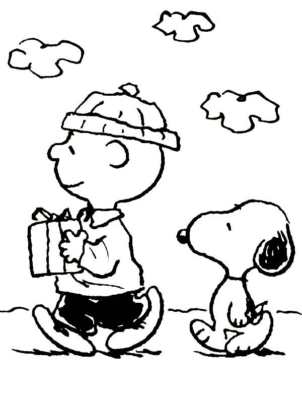 Charlie Brown Christmas Coloring Pages | Holiday Coloring Pages ...