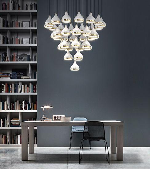 31 best lamparas para decorar tu hogar ideas de for Techos modernos