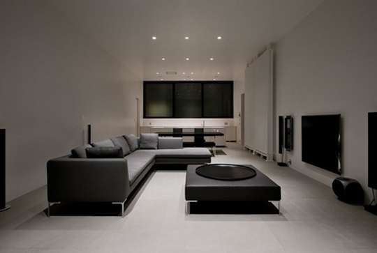 Modern residence from Tokyo by Baqueratta architect
