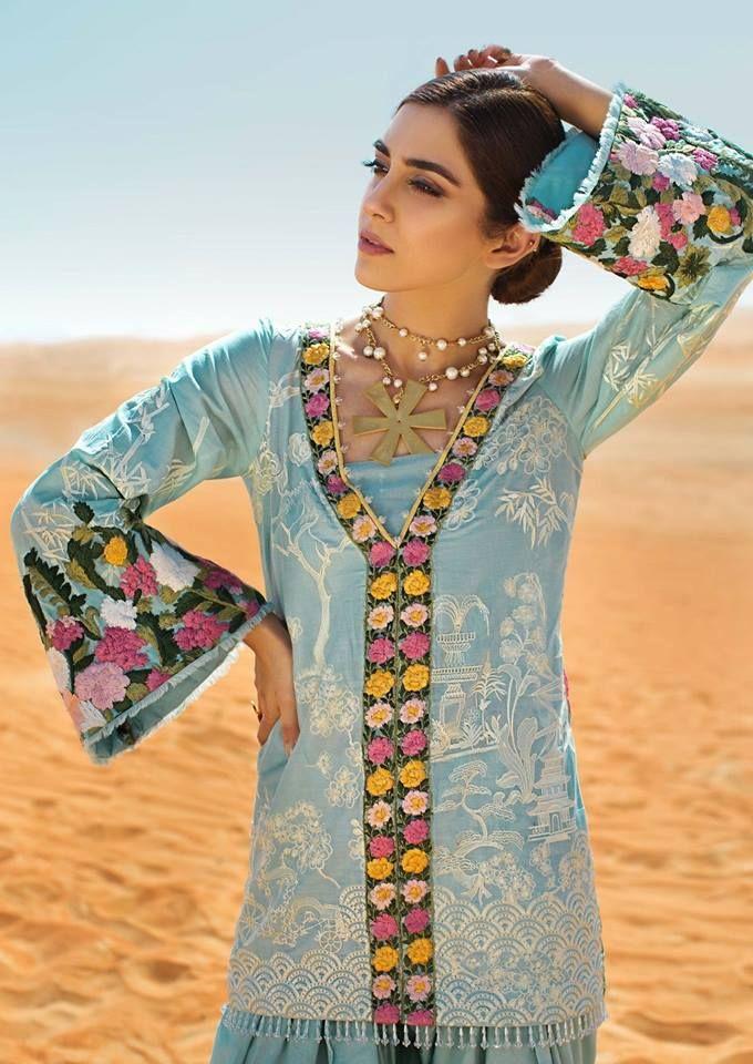 a2f90f307a Crimson lawn 2018-. Crimson lawn 2018- Pakistani Clothes Online, Pakistani  Outfits, Saira Shakira ...