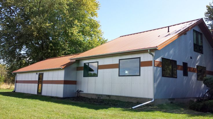 16 Best Images About Metal Siding Ideas On Pinterest