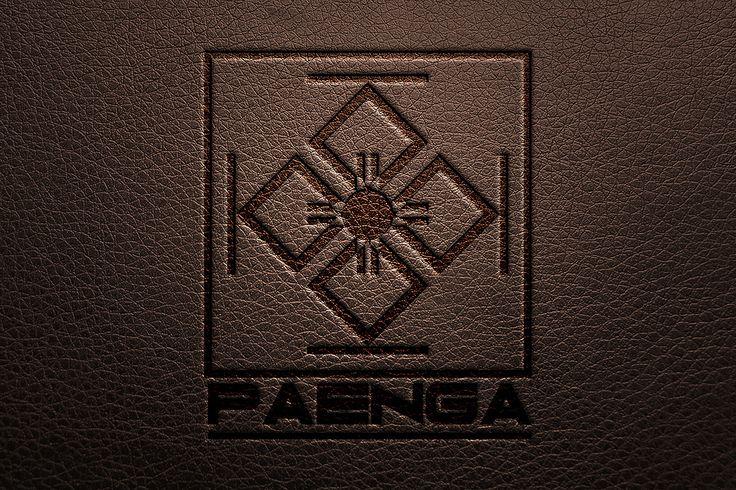 Cuño seco sobre cuero de empresa Paenga