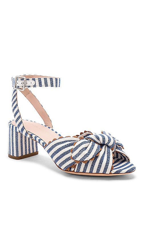 e171b274e794 Loeffler Randall JILL KNOTTED BLOCK HEELS WITH ANKLE STRAP