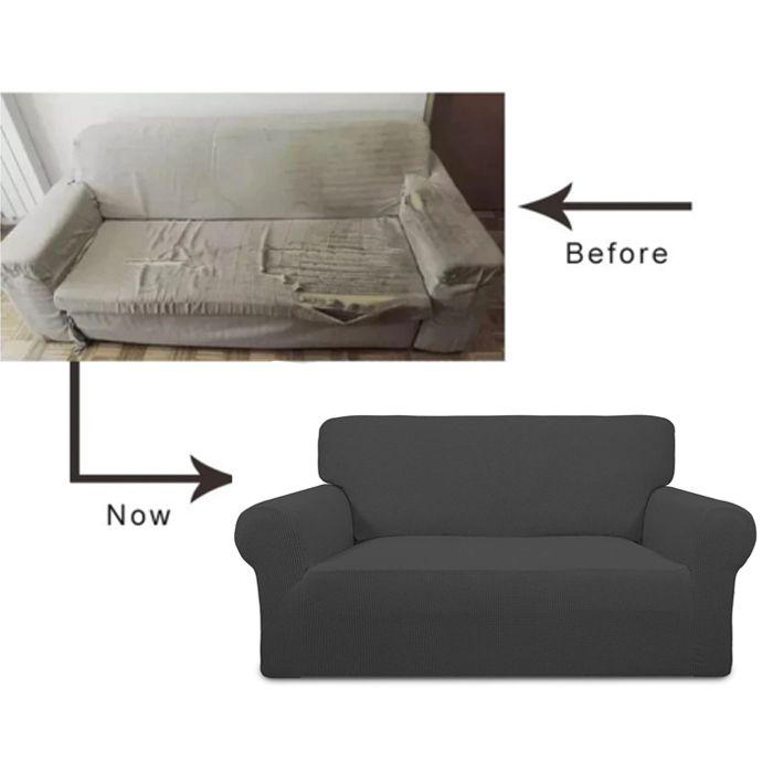 Toto Sofa Stretch Elastic Anti Slip Spandex Universal Sofa Cover Toto Furniture Make Life Happier Sofa Covers Couch Covers Old Sofa