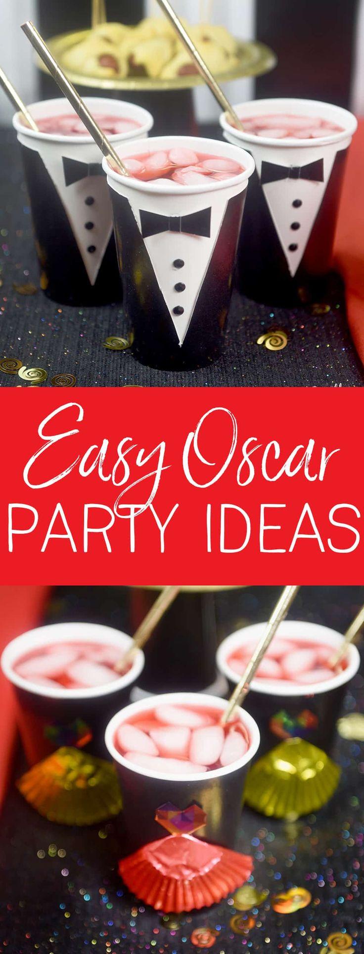 Birthday gift bags 5 cooking for oscar - 5 Easy Oscar Party Ideas