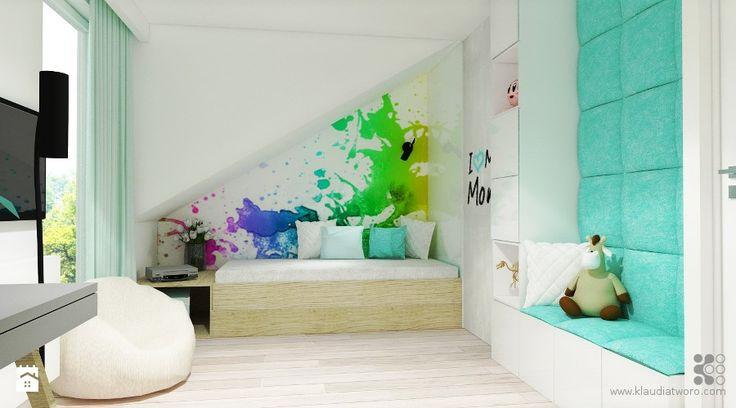 Pokój dziecka styl Nowoczesny Pokój dziecka - zdjęcie od Klaudia Tworo Projektowanie Wnętrz