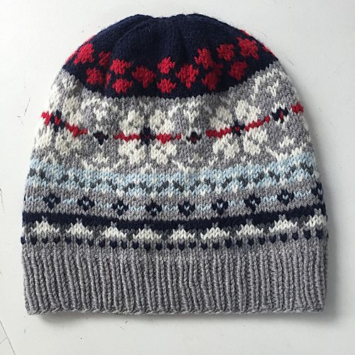Free Pattern: Elliot - a fair isle hat.