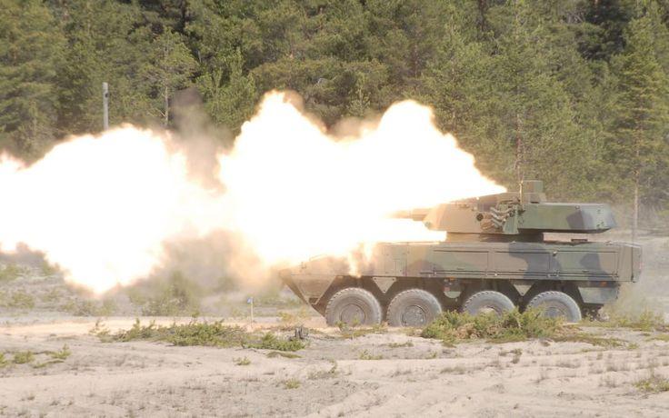 Patria AMV CT-CV 105/52mm Turret