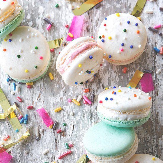 Cake Batter Macarons ~ An easy funfetti macaron recipe anyone can ace!