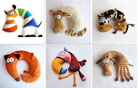 Шьем подушку для шеи для ребенка - Поделки. Игрушки. Шьем сами - Выкройки для детей - Каталог статей - Выкройки для детей, детская мода