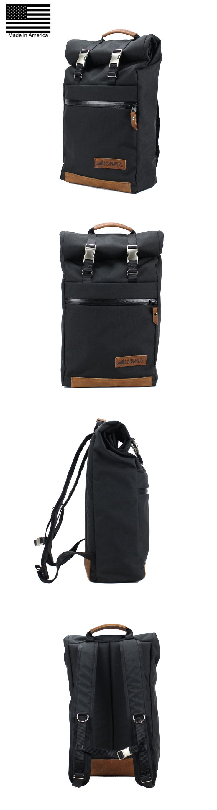Roll Top Backpack. Its Expandable, weatherproof and made for the bicycle or motorcycle commuter.