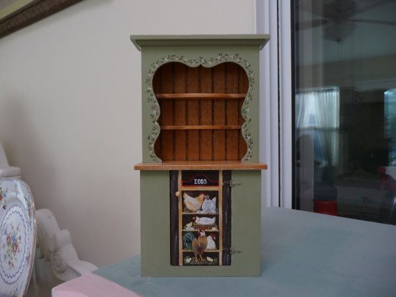 Chicken and Eggs Miniature Hutch♡ ♡ By zimraphel