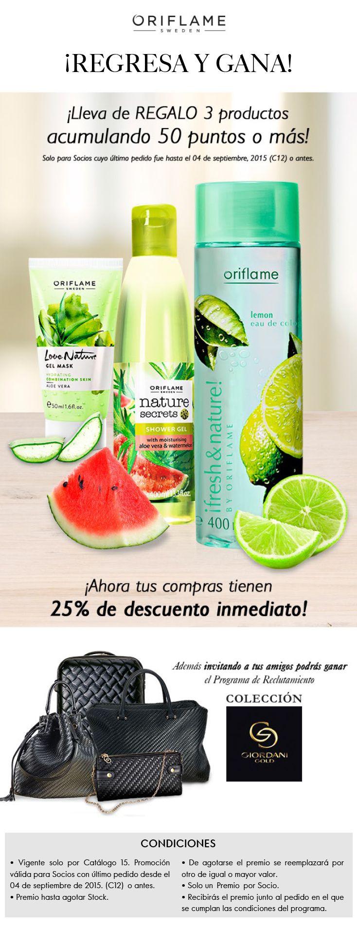 Promociones de Catálogo | Oriflame Cosmetics