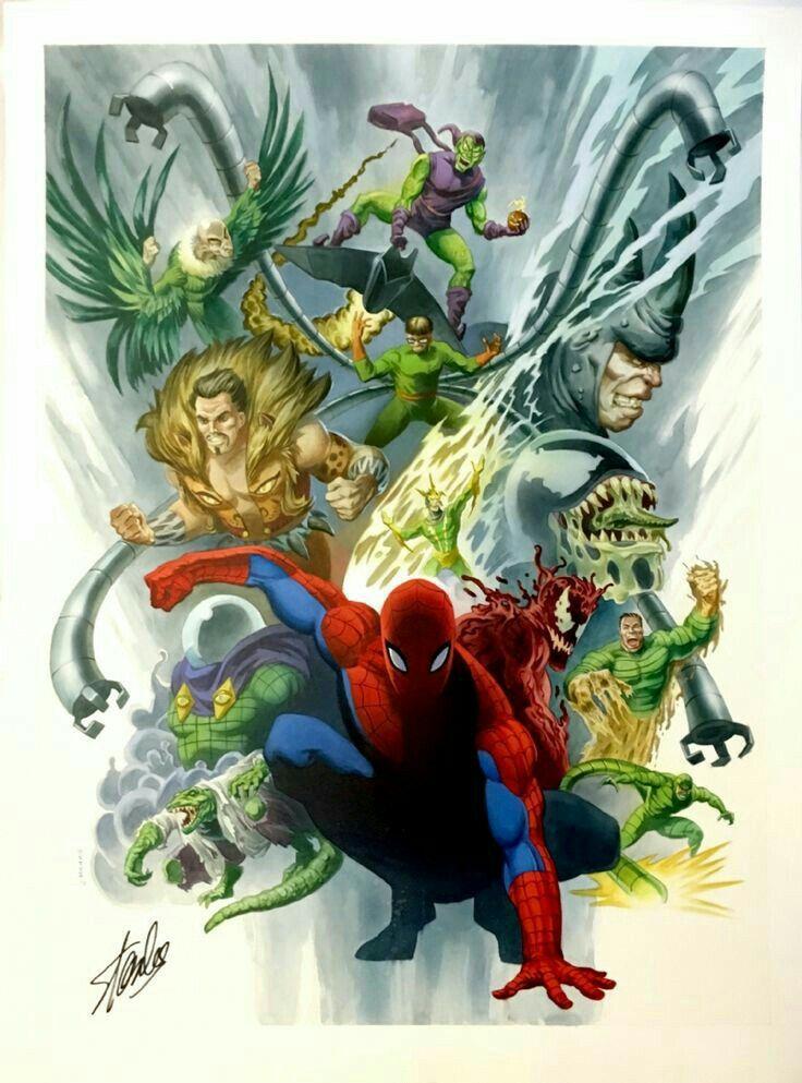 вози враги человека паука картинки более