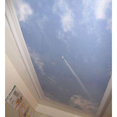 Un ciel qui occupe toute la chambre, c'est peut-etre un peu trop lourd (ringard meme)