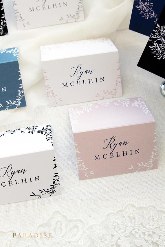Francesca Place Cards, Printable Place Cards or Printed Place Cards Calligraphy Place card Tented Cards, Name Tags, Beach or Elegant Wedding