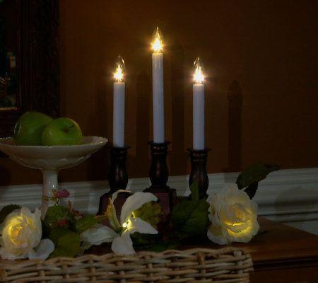 bethlehem lights set of 4 battery op window candles set of. Black Bedroom Furniture Sets. Home Design Ideas