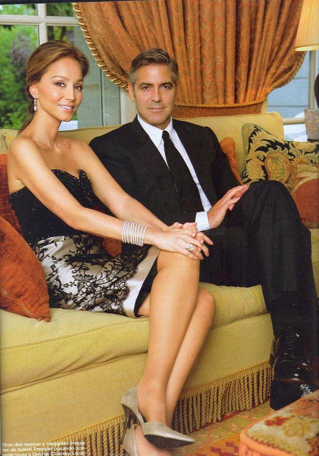 Isabel Preysler anfitriona en su casa de Puerta de Hierro de George Clooney