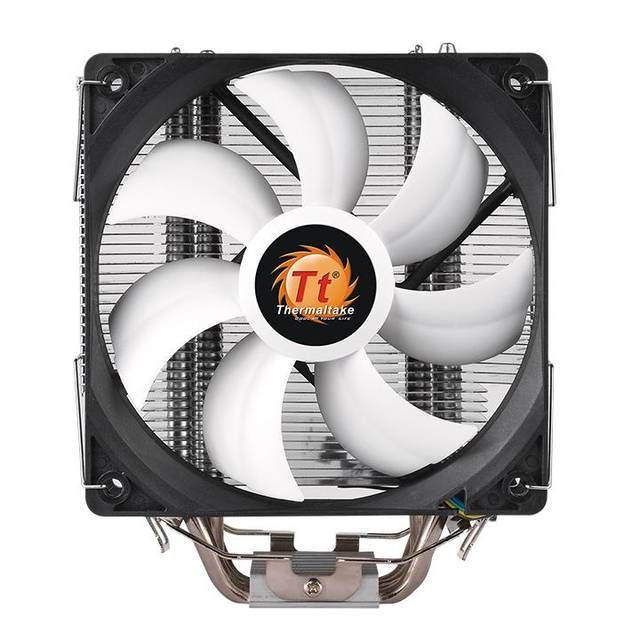 Thermaltake Contac Silent 12 Cl P039 Al12bl A Cpu Cooler For Intel