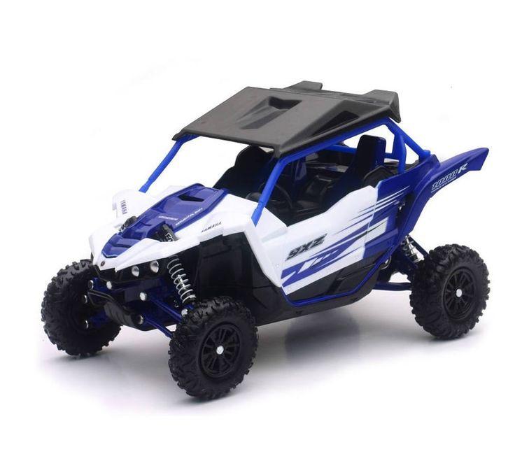 57813Aa Yamaha YXZ1000R 1:18 Side X Side Off Road Vehicle Blue New Ray Model  #NewRay #Yamaha